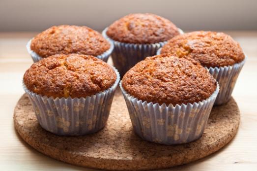 Muffins de manzana y canela