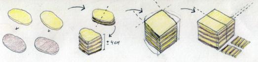 Galletas cebra - Elaboración