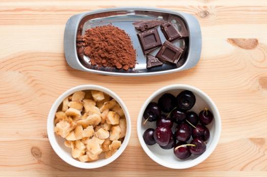 Helado Facil Platano Chocolate Cerezas 01