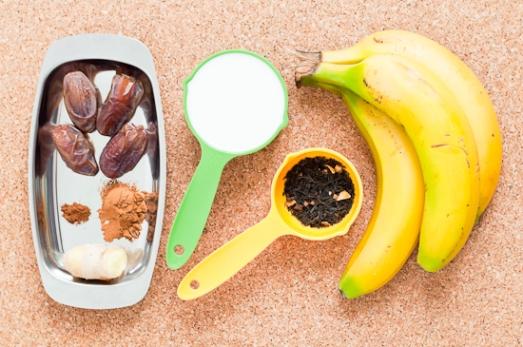 Helado de té especiado y plátano (1)