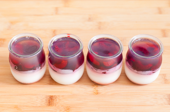 Gelatina de yogur te cerezas (3)