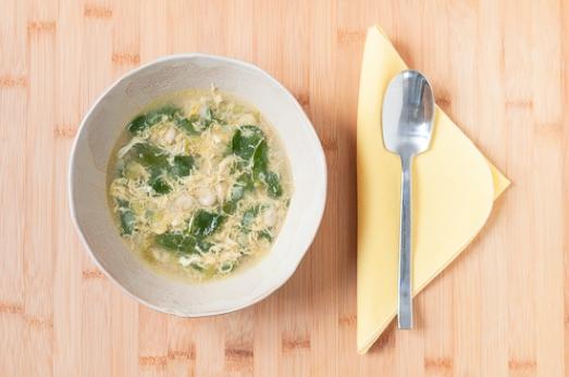 Sopa Habas Espinacas Huevo (5)