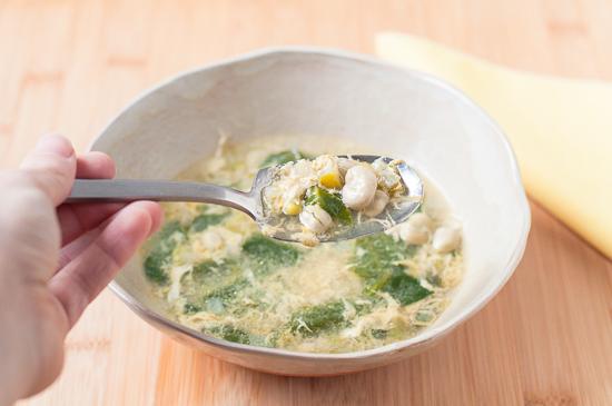Sopa Habas Espinacas Huevo (6)