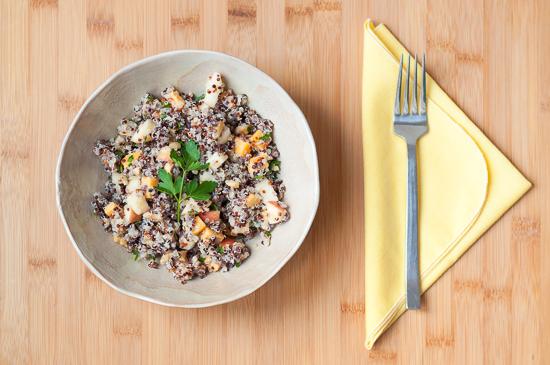 Ensalada de Quinoa Manzana Cheddar y Nueces (4)