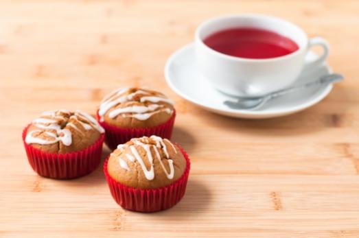 Muffins Veganos Naranja (10)