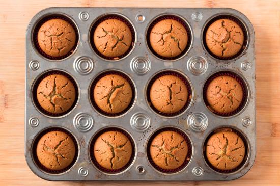 Muffins Veganos Naranja (6)