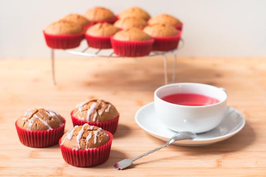 Muffins Veganos Naranja (7)