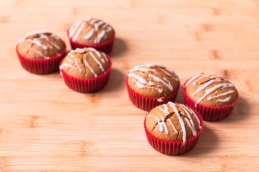 Muffins Veganos Naranja (8)