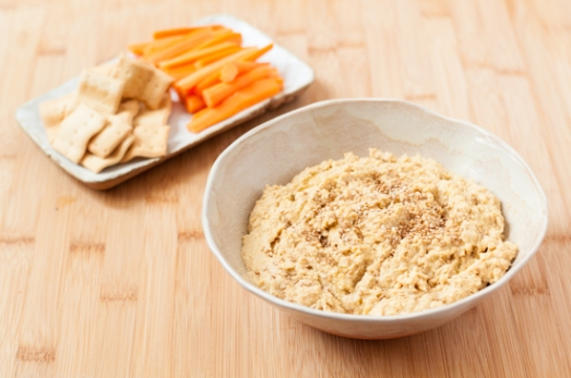 Hummus de lentejas y naranja 02