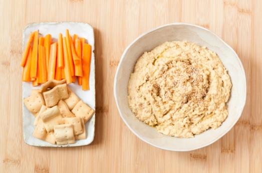 Hummus de lentejas y naranja 03