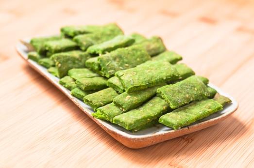 Galletas Saladas Espinacas Sesamo (7)