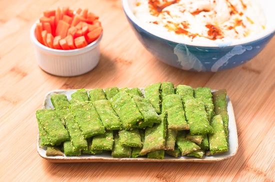 Galletas Saladas Espinacas Sesamo (8)