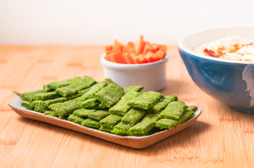 Galletas Saladas Espinacas Sesamo (9)